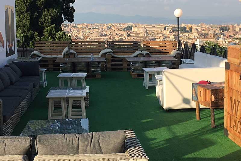 Terrazza Gianicolo Roma Centro Addio Al Nubilato Roma